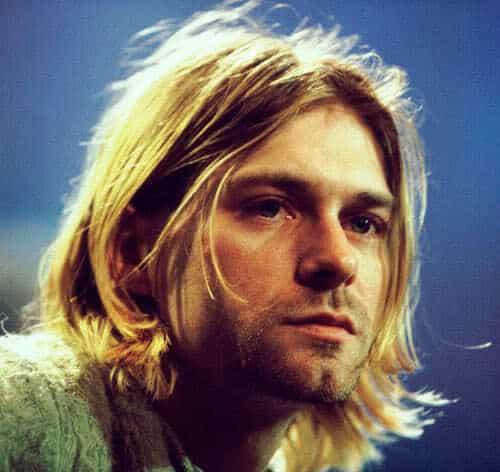 Kurt Cobain hairstyle.