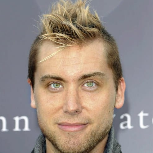Lance Bass mohawk hairstyle pic.