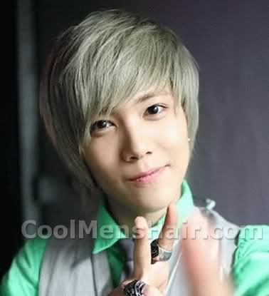 Lee Hong Ki blonde hair.
