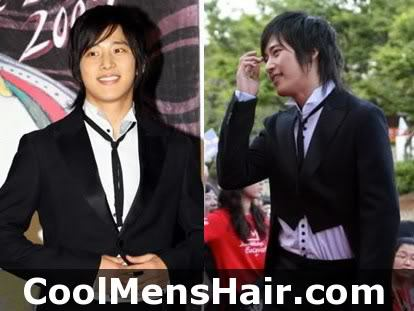 Photo of Lee Wan formal hairstyle.