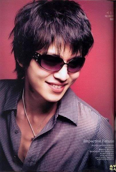 Lee Dong Wook hairstyle image.