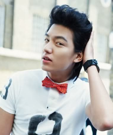 Lee Min Ho Pompadour Hairstyle