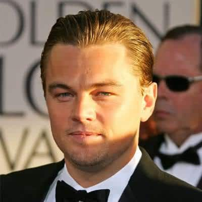 Leonardo DiCaprio slicked back Hairstyles