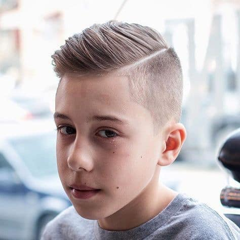 shaved sides hairstyle