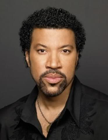 Picture of Lionel Richie 80s Jheri Curl Hairstyle.