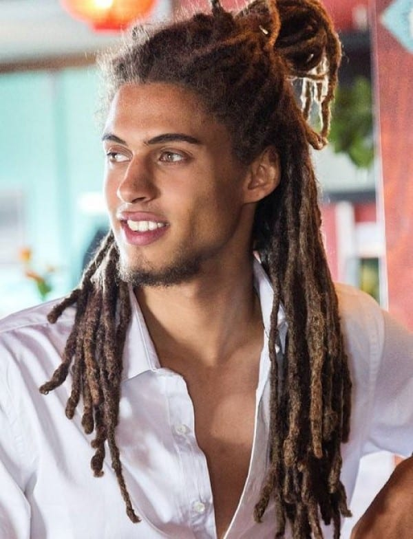 one dreadlock in hair style 20 best braided haircuts for black cool s hair 8601