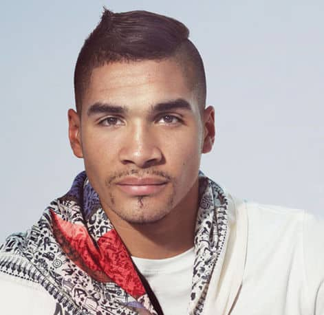 Photo of Louis Smith hairstyle.