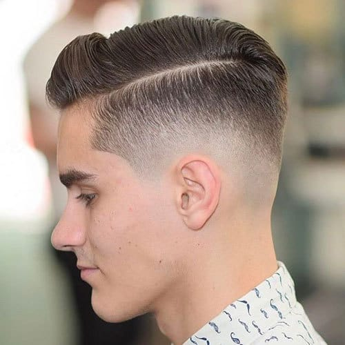 Top 50 Comb Over Fade Haircuts for Guys (2019 Hot Picks}