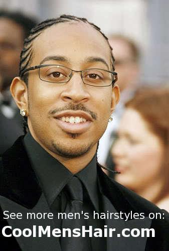 Ludacris cornrows