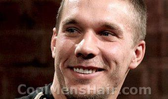 Lukas Podolski Hairstyles