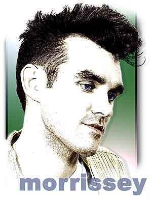 Mens hairstyle from Morrissey