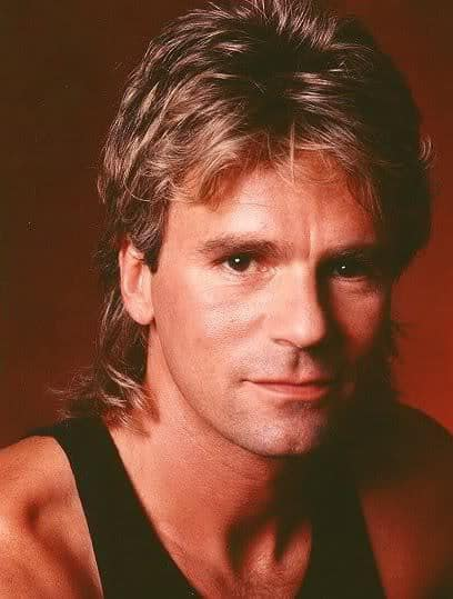 Image of MacGyver Mullet Hairstyle