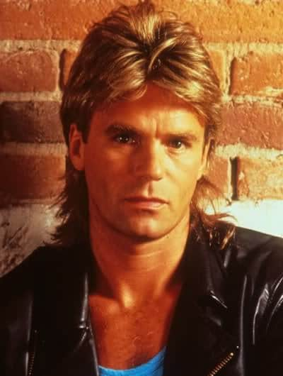 Photo of Mens Hairstyles: MacGyver Mullet Hairstyle