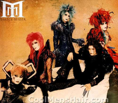 Photo of Malice Mizer hairstyles.
