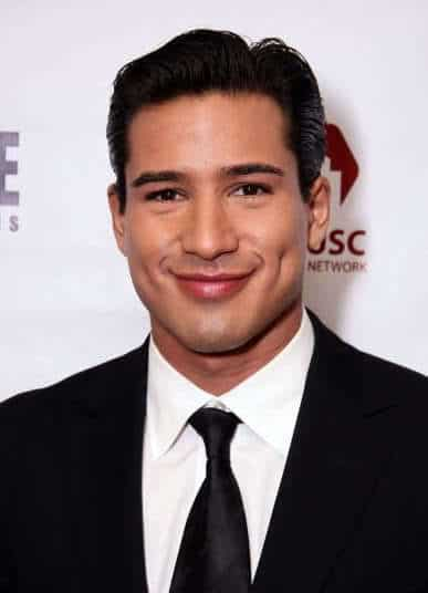 Mario Lopez classic formal hairstyle