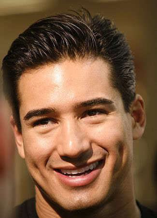 Mario Lopez short hairstyle