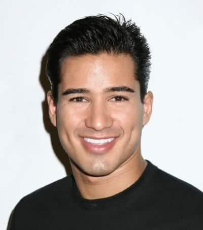 Mario Lopez tapered hairstyle