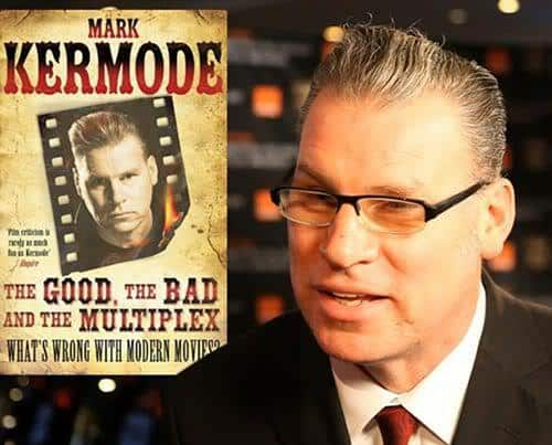 Photo of Mark Kermode quiff hairstyle.