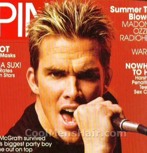 Photo of Mark Sayers McGrath hairstyle.