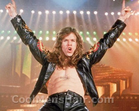 Photo of Mark Wahlberg portrays Izzy Cole in Rock Star movie.