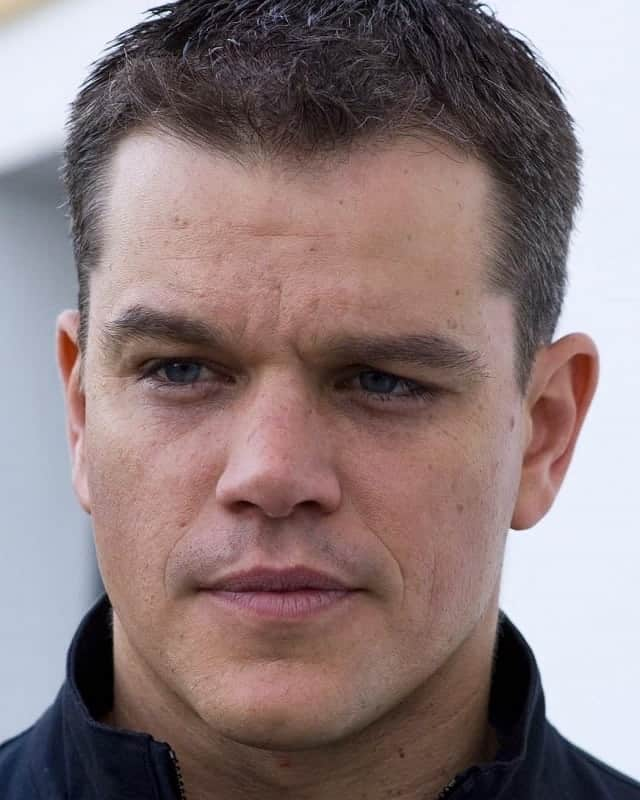 Matt Damon Haircut How To Style Top Looks Cool Men S Hair