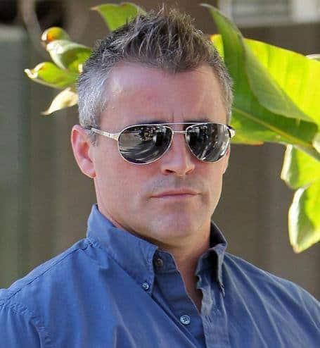 Matt Leblanc hairstyle photo for older men.