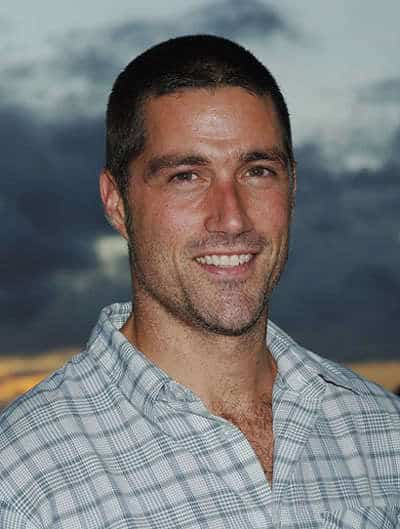 Matthew Fox Buzz haircut