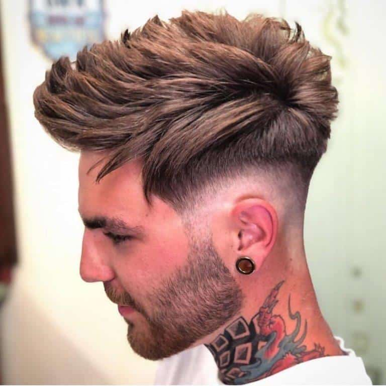 21 Classic Medium Hairstyles for Men with Thick Hair – Cool ...