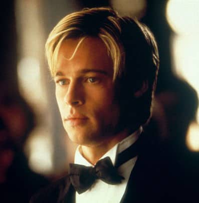 Image of Brad Pitt hair in Meet Joe Black.