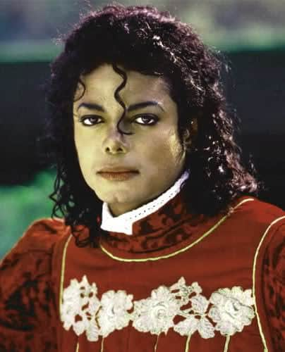 Photo of Michael Jackson 80s Jheri Curl Hairstyle.