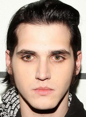 Mikey Way hairstyle