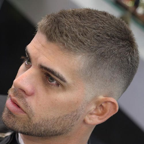 Beautiful Military Haircut For Men
