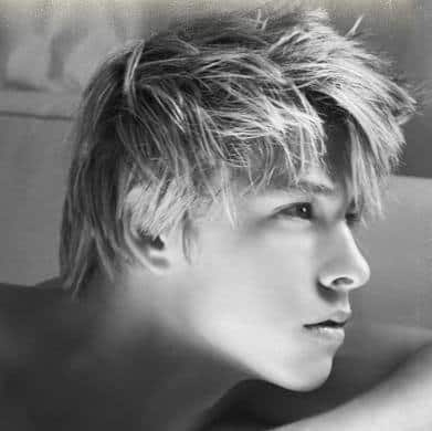 Mitch Hewer medium hairstyle