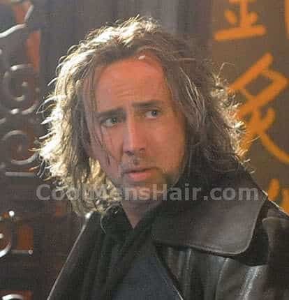 Photo of Nicolas Cage hairstyle in The Sorcerer's Apprentice.