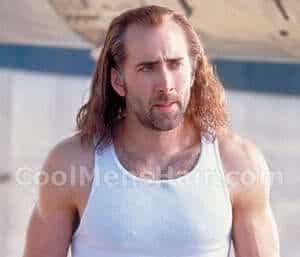 Pic of Nicolas hair in Con Air.