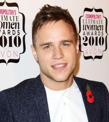 Image of Olly Murs razored spikey hairstyle.