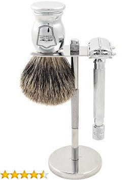 Image of Parker 82R Safety Razor Shave Set.