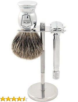 Image of Parker 82R Safety Razor Shave Set.