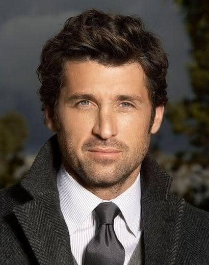 Patrick Dempsey Naturally Wavy Hairstyles