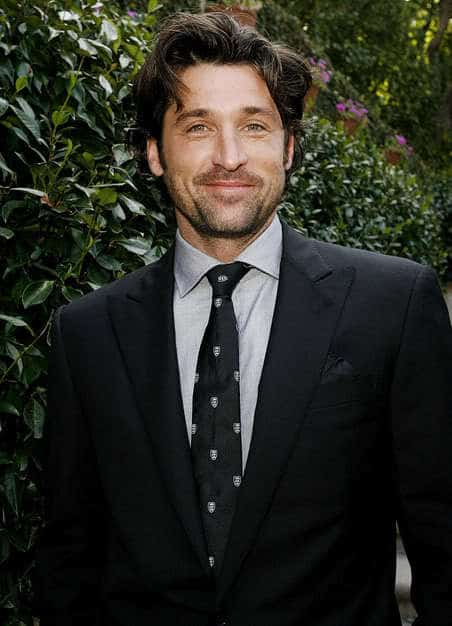 Patrick Dempsey Hairstyles Dapper In Naturally Wavy Hair