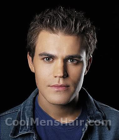 Image of Paul Wesley hair.