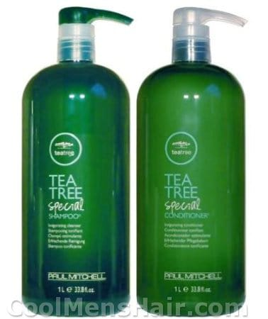 Image of Paul Mitchell Tea Tree Special Shampoo & Special Conditioner Duo.
