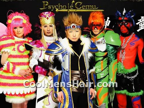 Photo of Psycho le Cému cosplay and hairstyles.