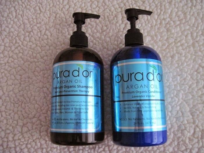 Pura d'or Hair Loss Prevention: Premium Organic Shampoo.