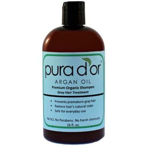 Pura d'or Gray Hair Treatment.