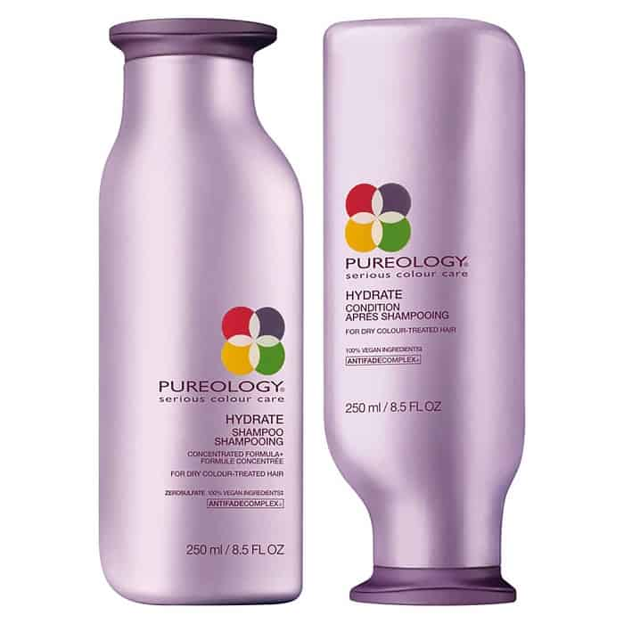 Image of Pureology Hydrate Shampoo and Conditioner Liter Set