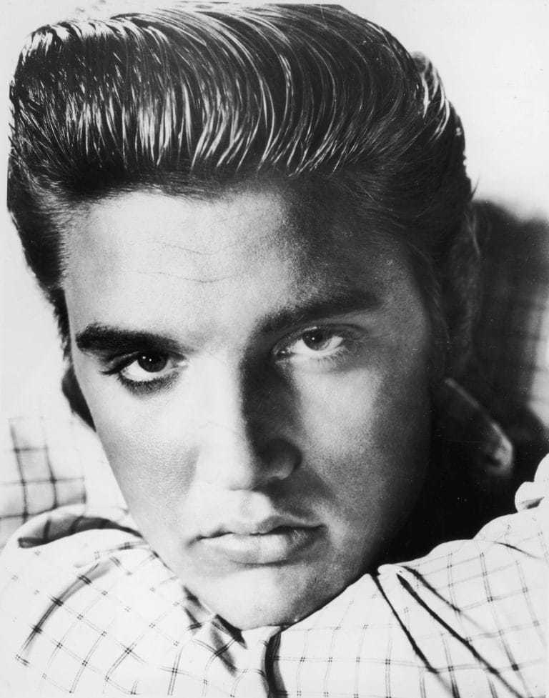 Elvis Presley's quiff haircut