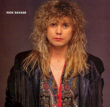 Photo of Rick Savage hairstyle.