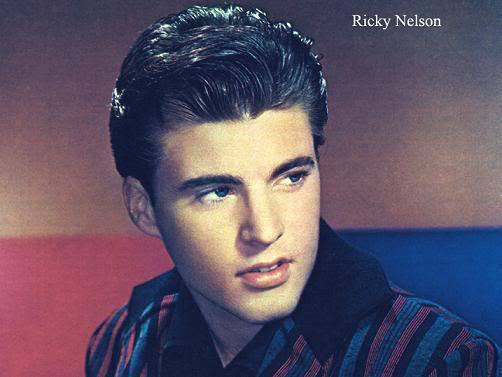 Ricky Nelson Pompadour Hairstyle