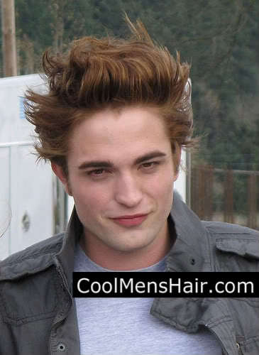 Great mens hairstyle from Robert Pattinson.
